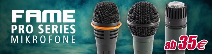 Musicstore - Moikrofone Fame Pro Series