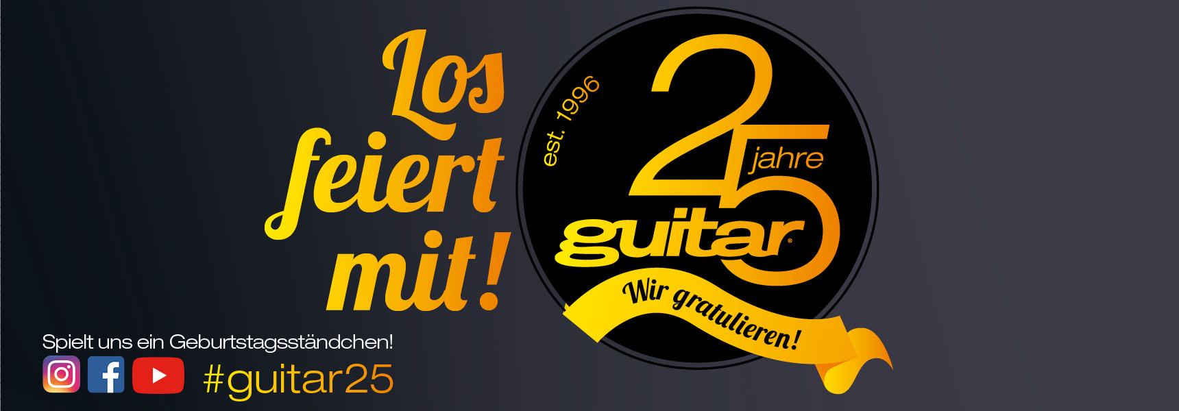 guitar Magazin 25 Jahre Ausgabe