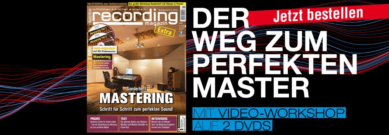 Recording Magazin Sonderheft Mastering